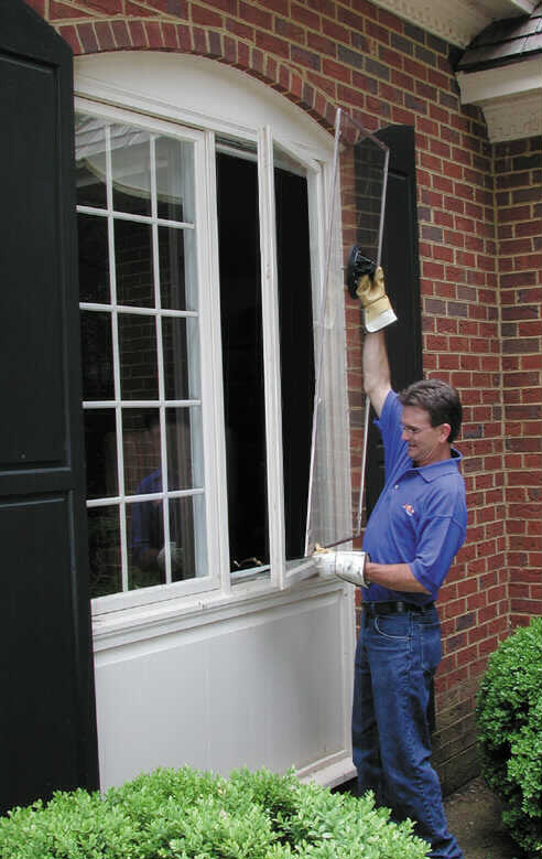 Residential commercial glass mirror services ace glass for Home window replacement