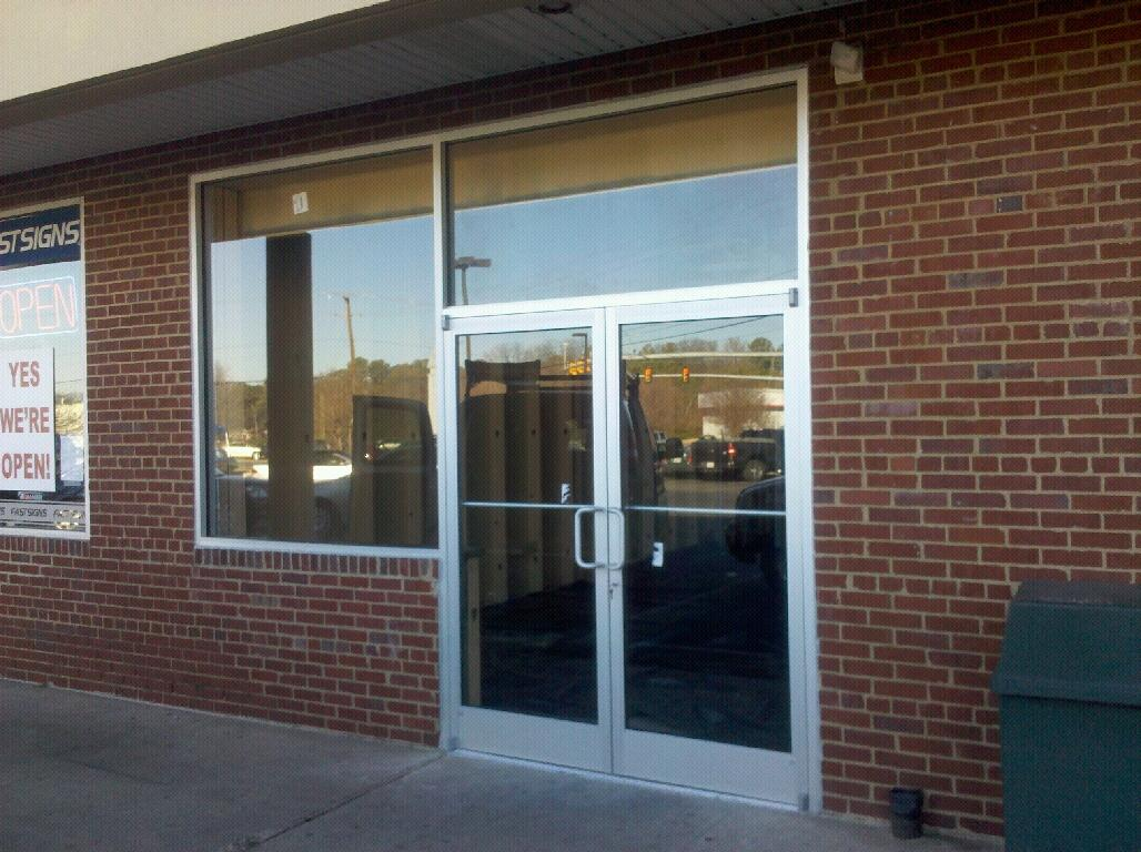 Storefront door commercial glass h 09 for Commercial windows