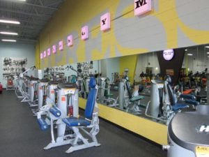 gym mirrored walls Richmond Va