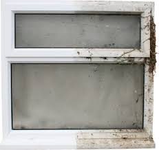 Cleaning white upvc window frames