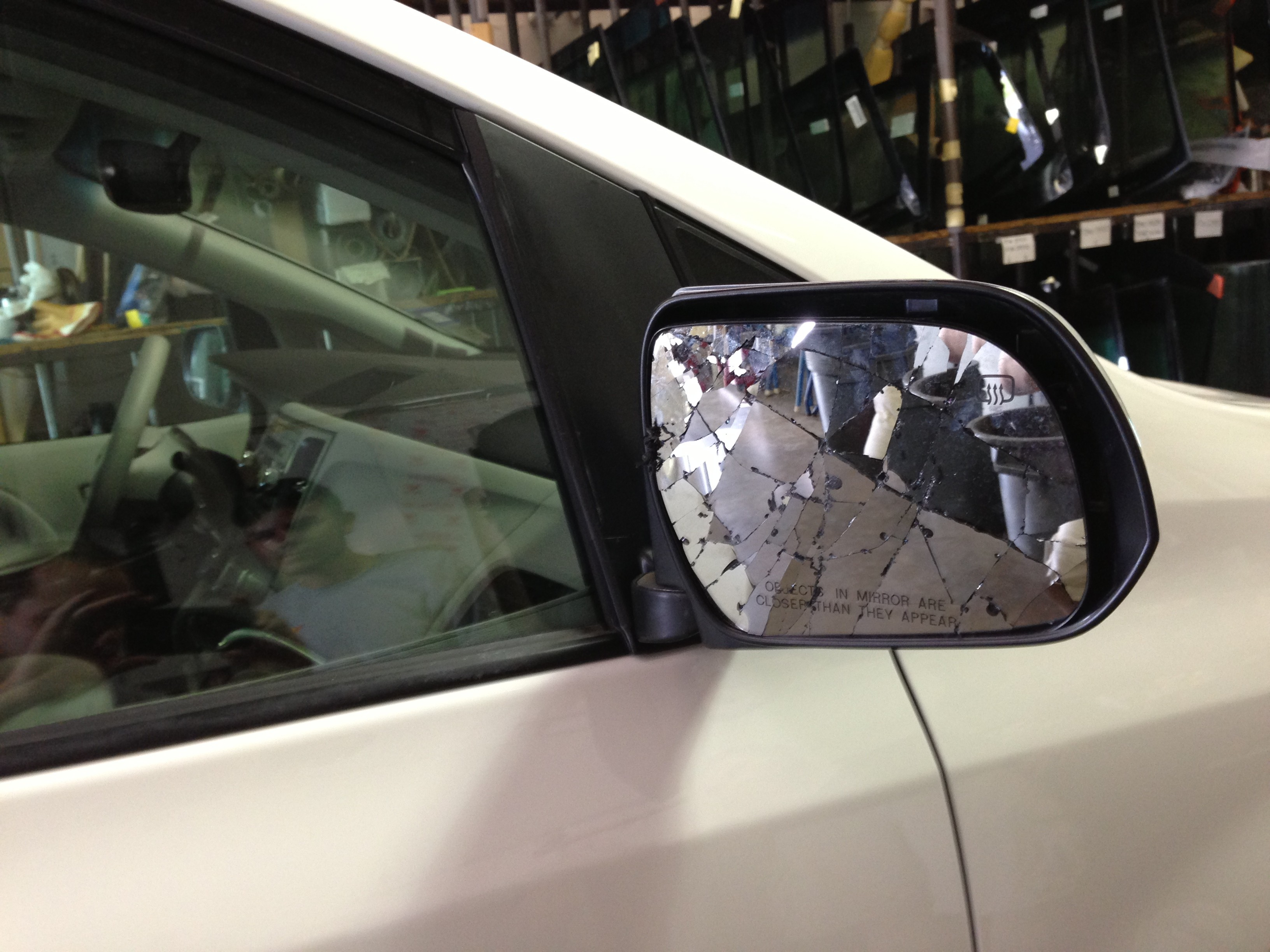 Side View Mirror Broken