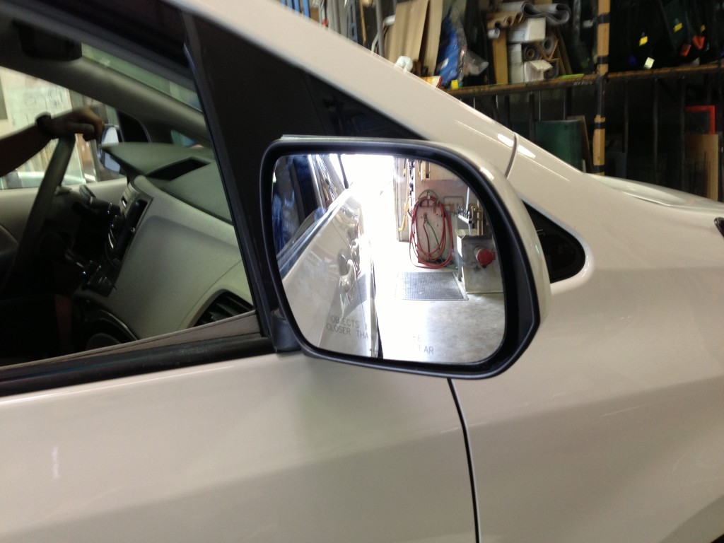 Side View Mirror Fixed Ace Glass
